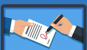 Podpis 280x161 - Как обеспечить свою компанию электронными сертификатами и не переживать из-за изменений 63 ФЗ?